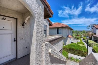 26165 La Real UNIT F, Mission Viejo, CA 92691 - MLS#: NP20040393