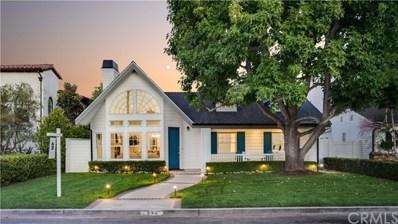542 Fullerton Avenue, Newport Beach, CA 92663 - MLS#: NP20177056