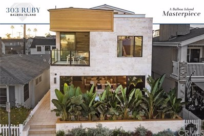 303 Ruby Avenue, Newport Beach, CA 92662 - MLS#: NP20189835