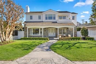 406 Aliso Avenue, Newport Beach, CA 92663 - MLS#: NP21034896