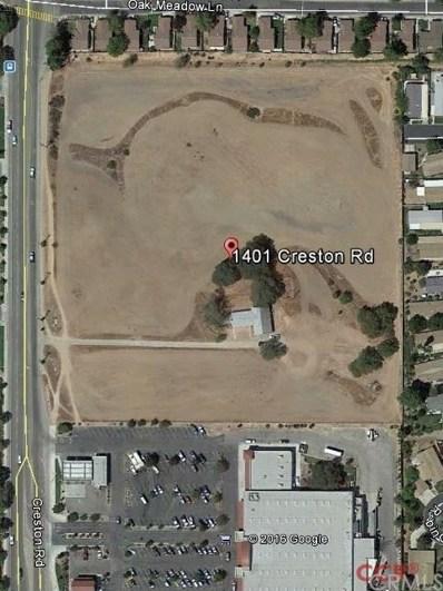 1401 Creston Road, Paso Robles, CA 93446 - MLS#: NS1075661