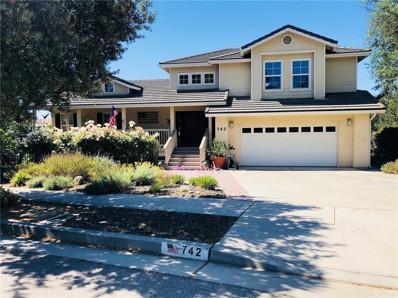 742 Oxen Court, Paso Robles, CA 93446 - MLS#: NS18131964