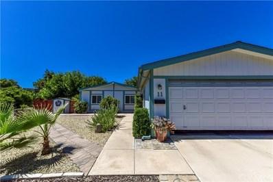 11 Dove, Paso Robles, CA 93446 - MLS#: NS19273631