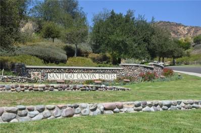 29181 Latigo Canyon, Silverado Canyon, CA 92676 - MLS#: OC16702261