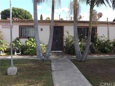 1000 E Bishop Street E UNIT X2, Santa Ana, CA 92701 - MLS#: OC16767394