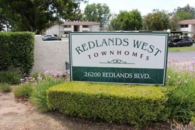 26200 Redlands Boulevard UNIT 177, Redlands, CA 92354 - MLS#: OC17193570