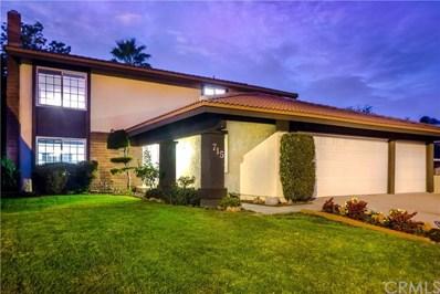 715 Farben Drive, Diamond Bar, CA 91765 - MLS#: OC17194099