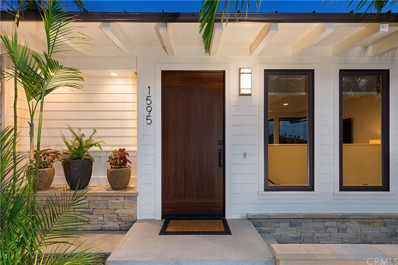 1595 Bluebird Canyon Drive, Laguna Beach, CA 92651 - MLS#: OC17201634