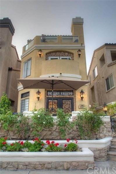 207 18th Street, Huntington Beach, CA 92648 - MLS#: OC17226275