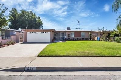 934 Hallwood Avenue, Pomona, CA 91767 - MLS#: OC17233316