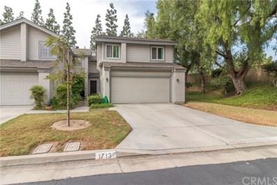 1713 Truman Circle, Placentia, CA 92870 - MLS#: OC17240941