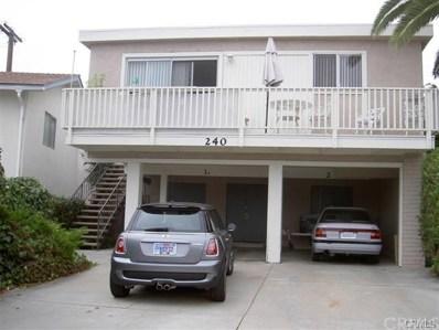 240 W Canada UNIT 2, San Clemente, CA 92672 - MLS#: OC17242368