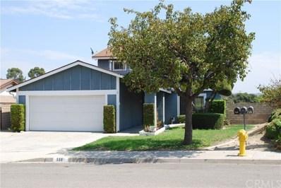 558 Vista Rambla, Walnut, CA 91789 - MLS#: OC17250530