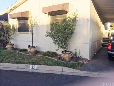41900 Ivy Street UNIT 22, Murrieta, CA 92562 - MLS#: OC17256444