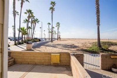 418 E Oceanfront UNIT A, Newport Beach, CA 92661 - MLS#: OC17270160