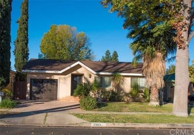 5903 Hesperia Avenue, Encino, CA 91316 - MLS#: OC17276373