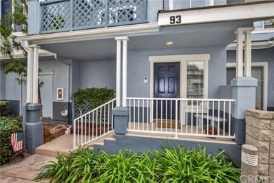 93 Coronado Cay Lane, Aliso Viejo, CA 92656 - MLS#: OC18005310