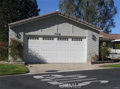 3238 San Amadeo UNIT A, Laguna Woods, CA 92637 - MLS#: OC18026873