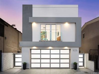 505 36th Street, Newport Beach, CA 92663 - MLS#: OC18055206