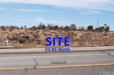 0 Lemon Street, Hesperia, CA 92345 - MLS#: OC18055573