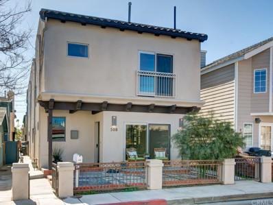508 36th Street, Newport Beach, CA 92663 - MLS#: OC18061179