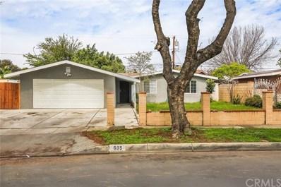 605 E Pomona Street, Santa Ana, CA 92707 - MLS#: OC18064947