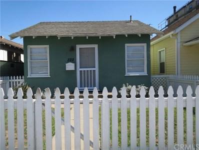 322 3rd Street, Huntington Beach, CA 92648 - MLS#: OC18073444