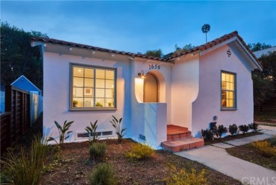 1659 Redcliff Street, Los Angeles, CA 90026 - MLS#: OC18073721