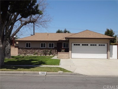 1343 W Olive Avenue, Fullerton, CA 92833 - MLS#: OC18094033