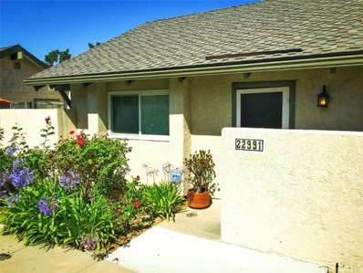 22991 Caminito Lago UNIT 80, Laguna Hills, CA 92653 - MLS#: OC18096185