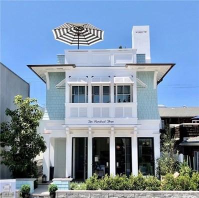 203 Diamond Avenue, Newport Beach, CA 92662 - MLS#: OC18098560