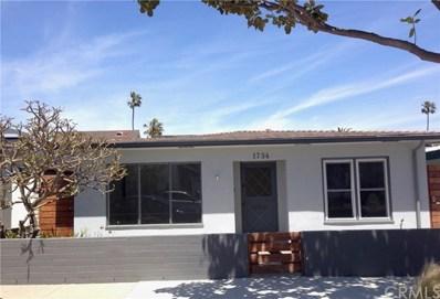 1734 Miramar Drive, Newport Beach, CA 92661 - MLS#: OC18104829