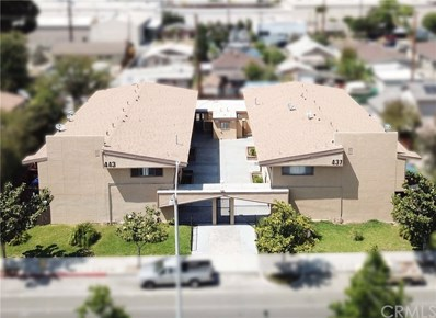 443 W Valencia Drive, Fullerton, CA 92832 - MLS#: OC18124014