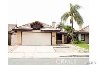 10543 Creekbridge Street, Rancho Cucamonga, CA 91730 - MLS#: OC18140252