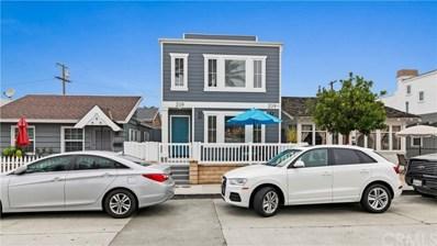 209 38th Street UNIT A, Newport Beach, CA 92663 - MLS#: OC18143708
