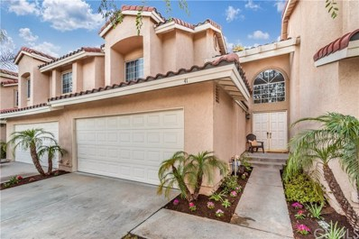 41 Wild Horse Loop UNIT 37, Rancho Santa Margarita, CA 92688 - MLS#: OC18148693