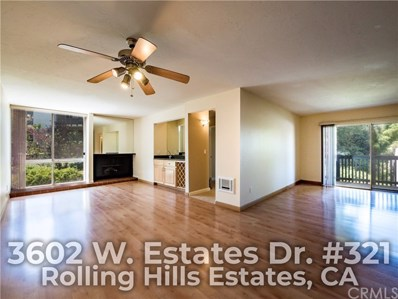 3602 W Estates Lane UNIT 321, Rolling Hills Estates, CA 90274 - MLS#: OC18151061