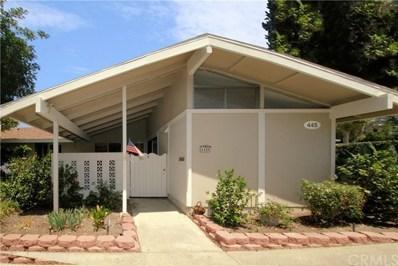445 Avenida Sevilla UNIT C, Laguna Woods, CA 92637 - MLS#: OC18160514