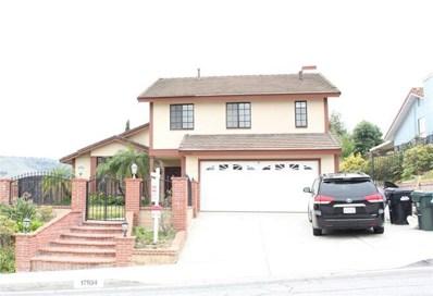 17934 Calle Los Arboles, Rowland Heights, CA 91748 - MLS#: OC18167470