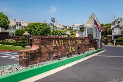 34300 Lantern Bay Drive UNIT 45, Dana Point, CA 92629 - MLS#: OC18168054