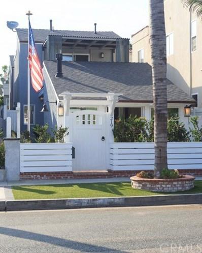 219 20th Street, Huntington Beach, CA 92648 - MLS#: OC18168243