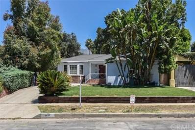 121 W. Manor Street, Altadena, CA 91001 - MLS#: OC18177965
