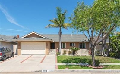 19922 Estuary Lane, Huntington Beach, CA 92646 - MLS#: OC18185037