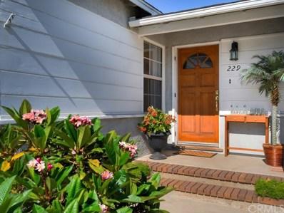 229 N Stevens Street, Orange, CA 92868 - MLS#: OC18189239