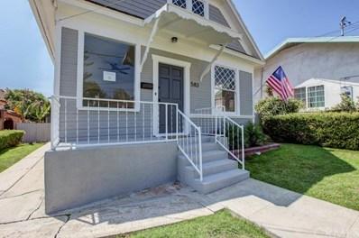 583 W 1st Street, San Pedro, CA 90731 - MLS#: OC18203927