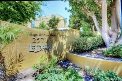 25712 Le Parc UNIT 67, Lake Forest, CA 92630 - MLS#: OC18208132