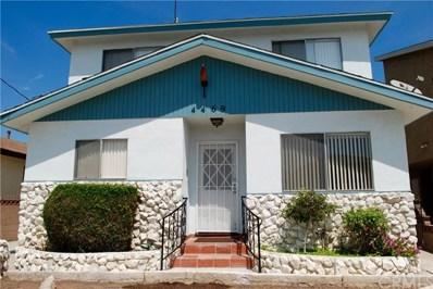 4469 W 137th Place UNIT A, Hawthorne, CA 90250 - MLS#: OC18211769