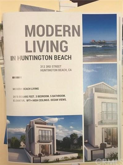 312 3rd Street, Huntington Beach, CA 92648 - MLS#: OC18215519