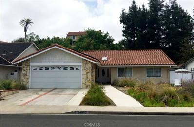 24602 Mosquero Lane, Mission Viejo, CA 92691 - MLS#: OC18221389