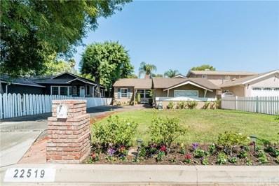 22519 Berdon Street, Woodland Hills, CA 91367 - MLS#: OC18224044